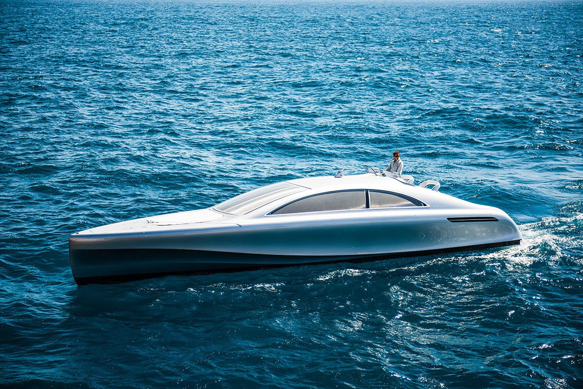 Mercedes-Benz Introduces Luxury Yacht Arrow460 – Granturismo 1