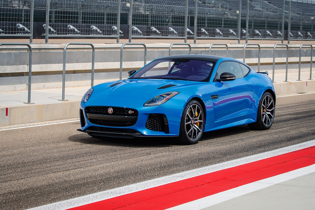 Hot Laps in Spain with The F-Type SVR 12