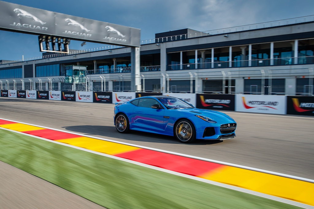 Hot Laps in Spain with The F-Type SVR 11