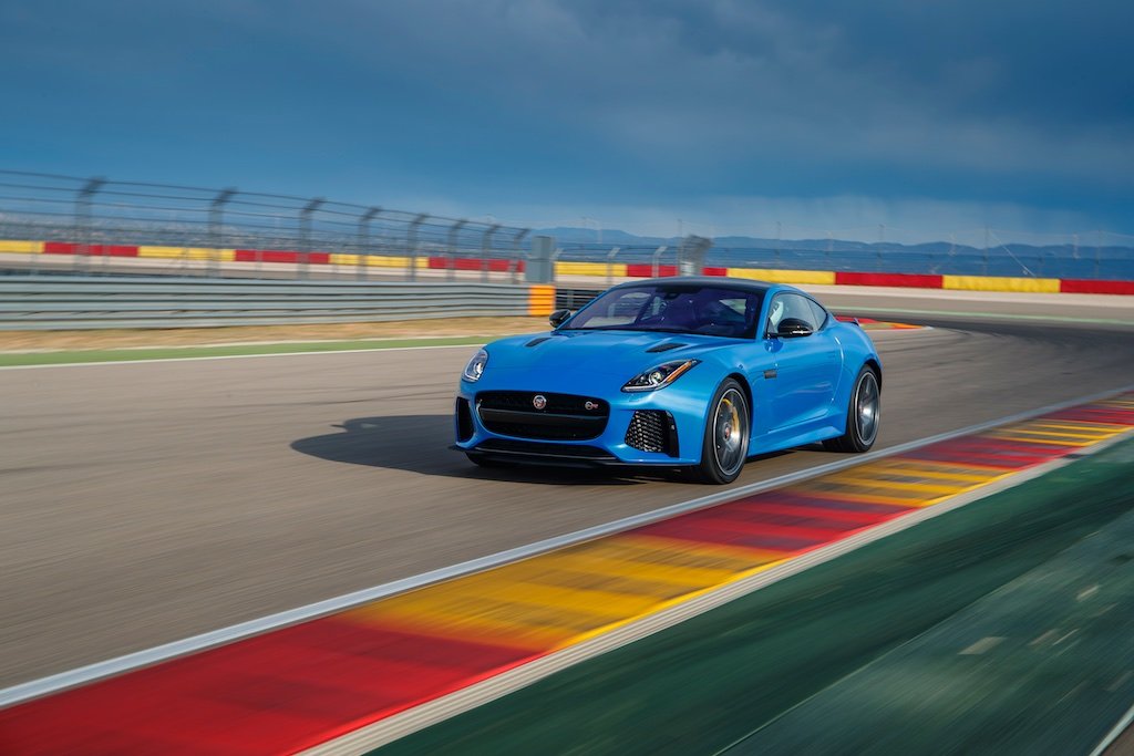 Hot Laps in Spain with The F-Type SVR 10