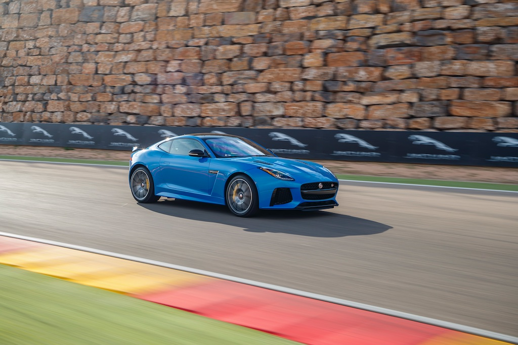 Hot Laps in Spain with The F-Type SVR 9