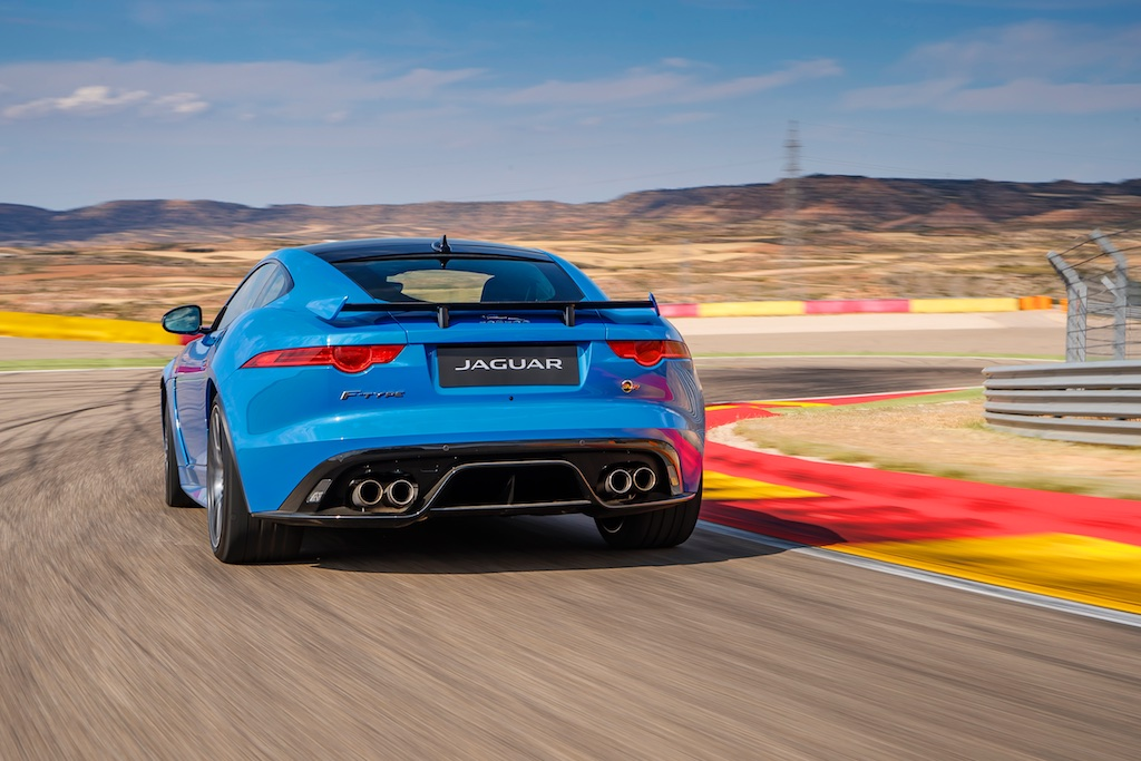 Hot Laps in Spain with The F-Type SVR 2