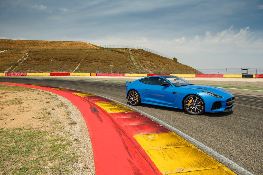 Hot Laps in Spain with The F-Type SVR 3