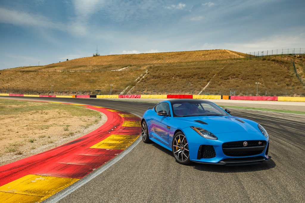 Hot Laps in Spain with The F-Type SVR 8