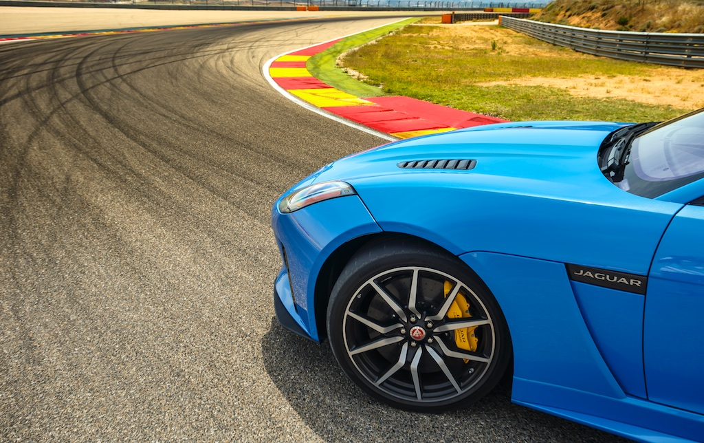 Hot Laps in Spain with The F-Type SVR 1