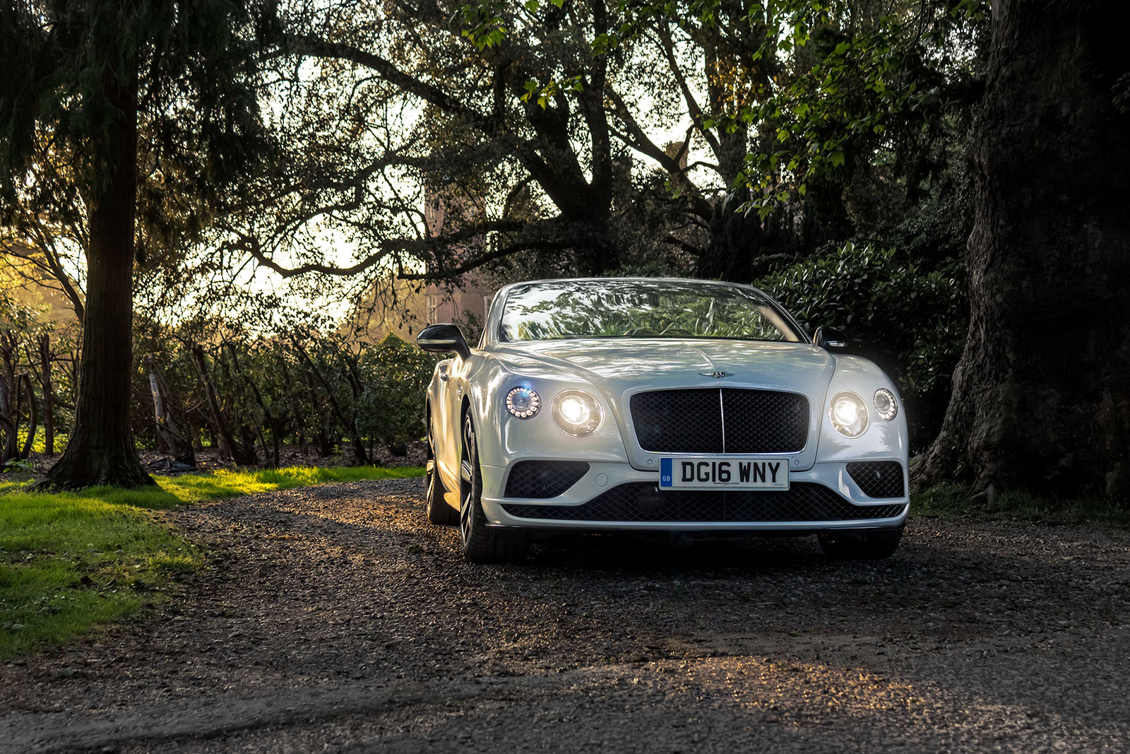 Top Down in The Bentley GTC V8S 2