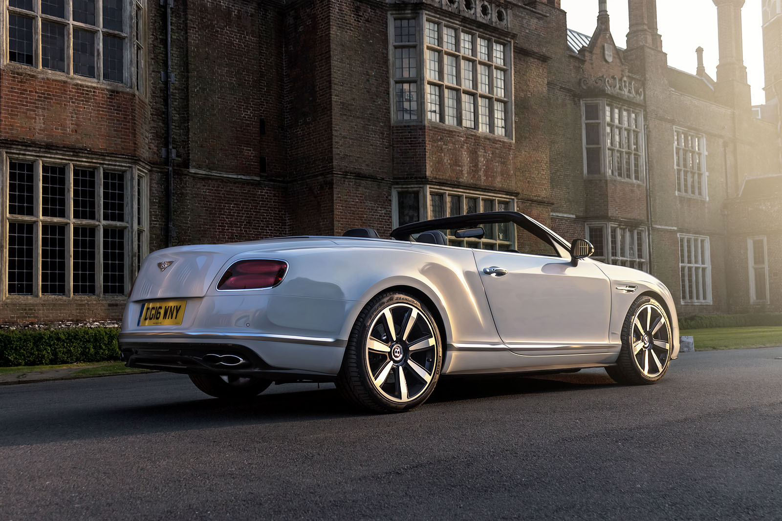 Top Down in The Bentley GTC V8S 4