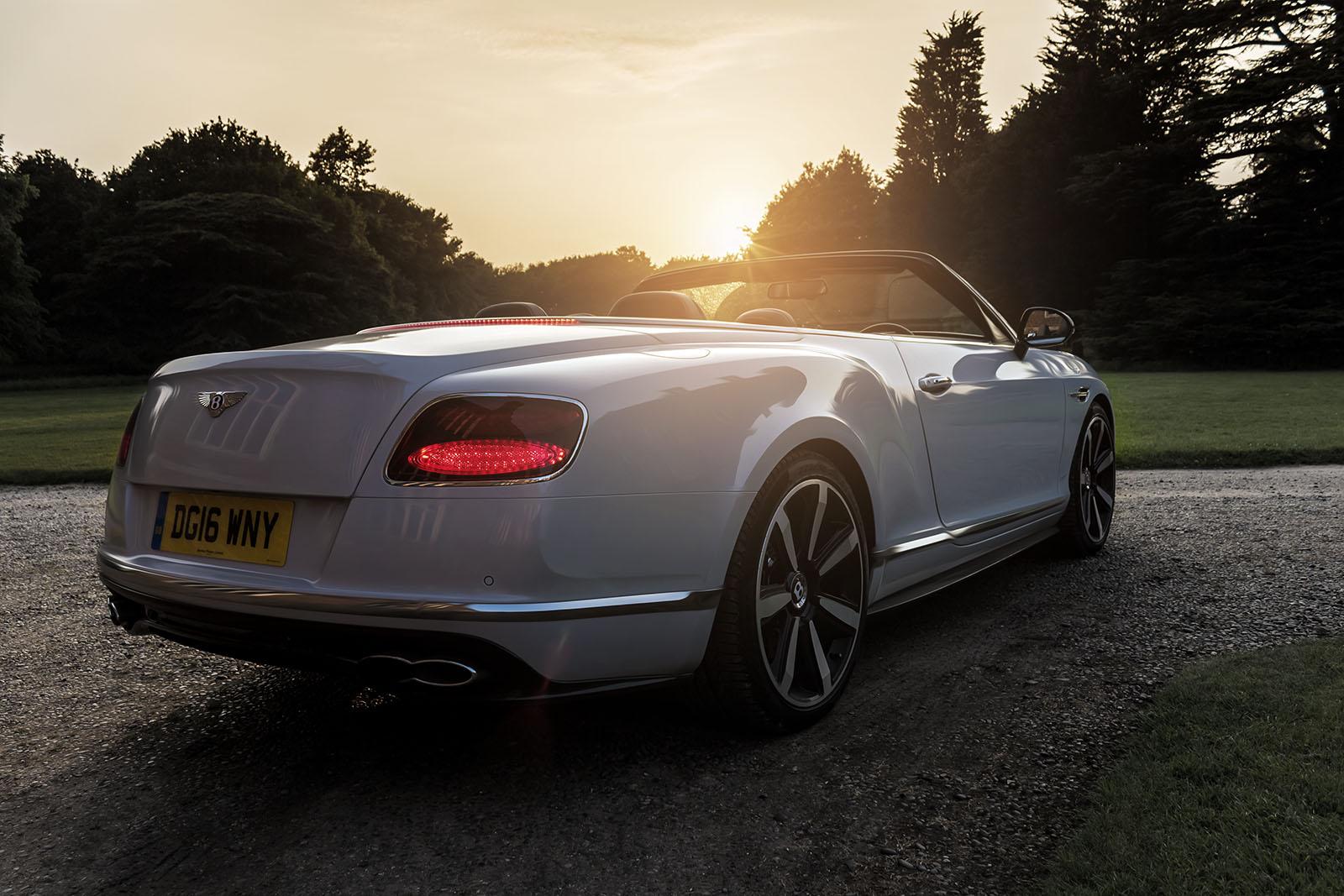 Top Down in The Bentley GTC V8S 7