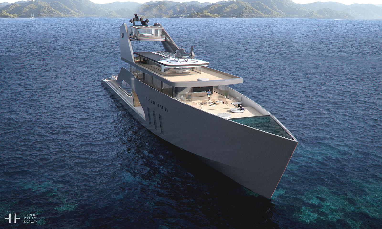 Mit der 108M Mega Yacht hat man den eigenen Strand mit an Board 5