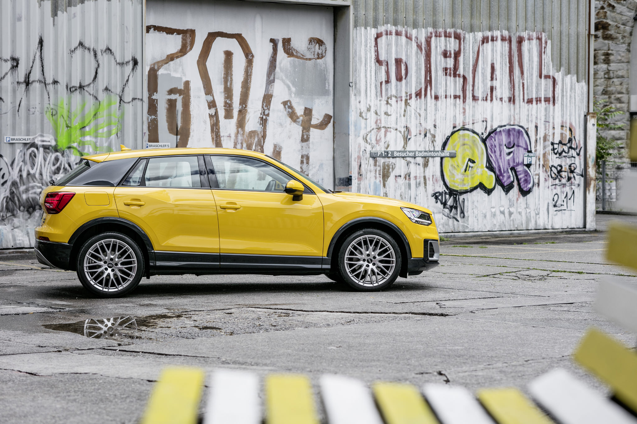 Summer In Zurich With The Audi Q2 8