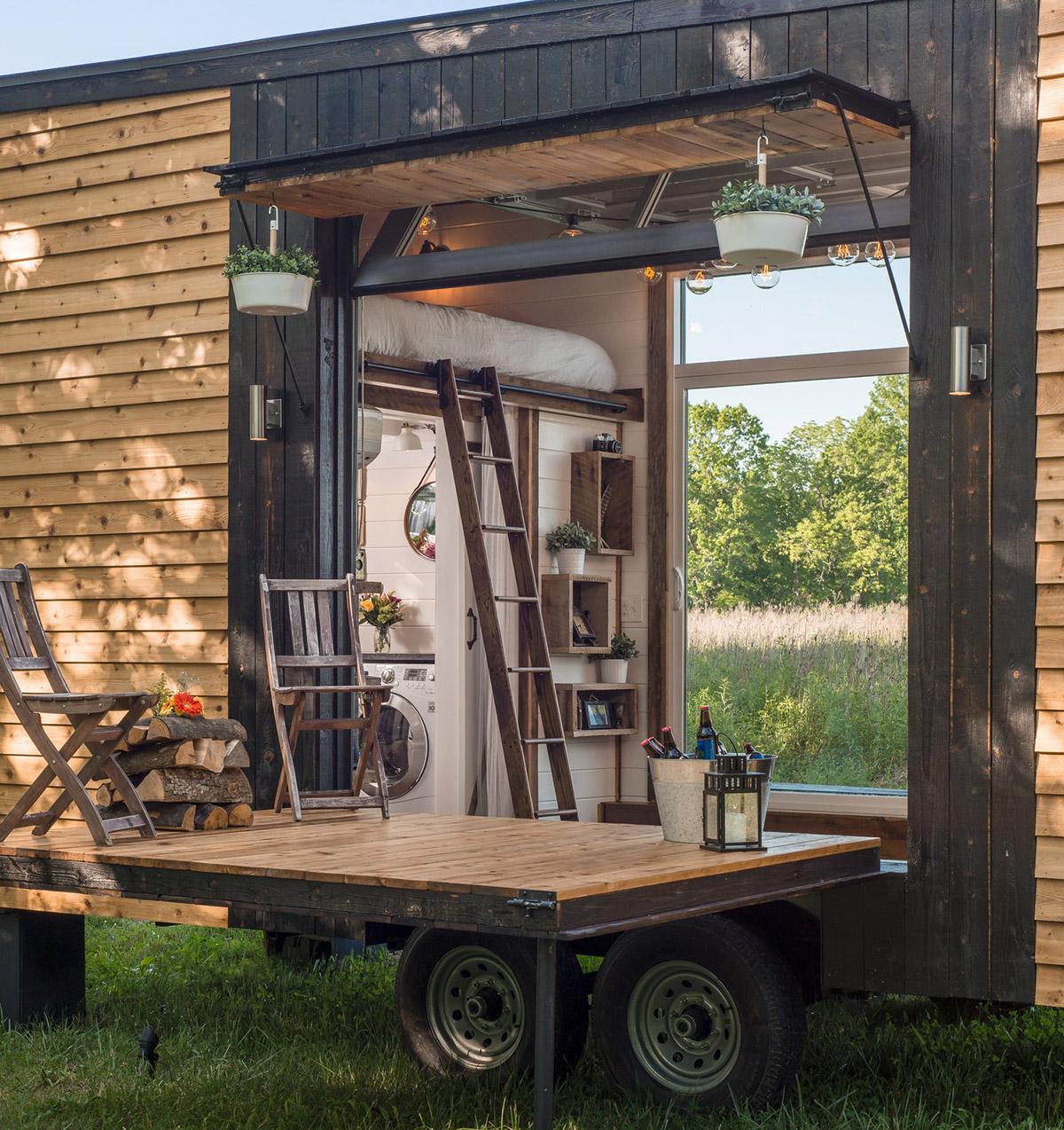 Das Alpha Tiny Home macht die Welt zum Zuhause 4