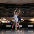 Midnight in Stuttgart With Mercedes-Benz and the the Hiplet Ballerinas