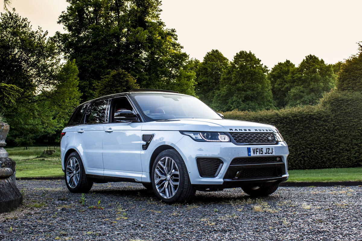 "The ""Special"" Range Rover Sport SVR 4"