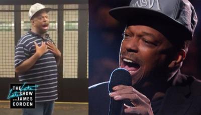 James Corden macht Straßenmusiker Mike Yung für TV-Auftritt ausfindig