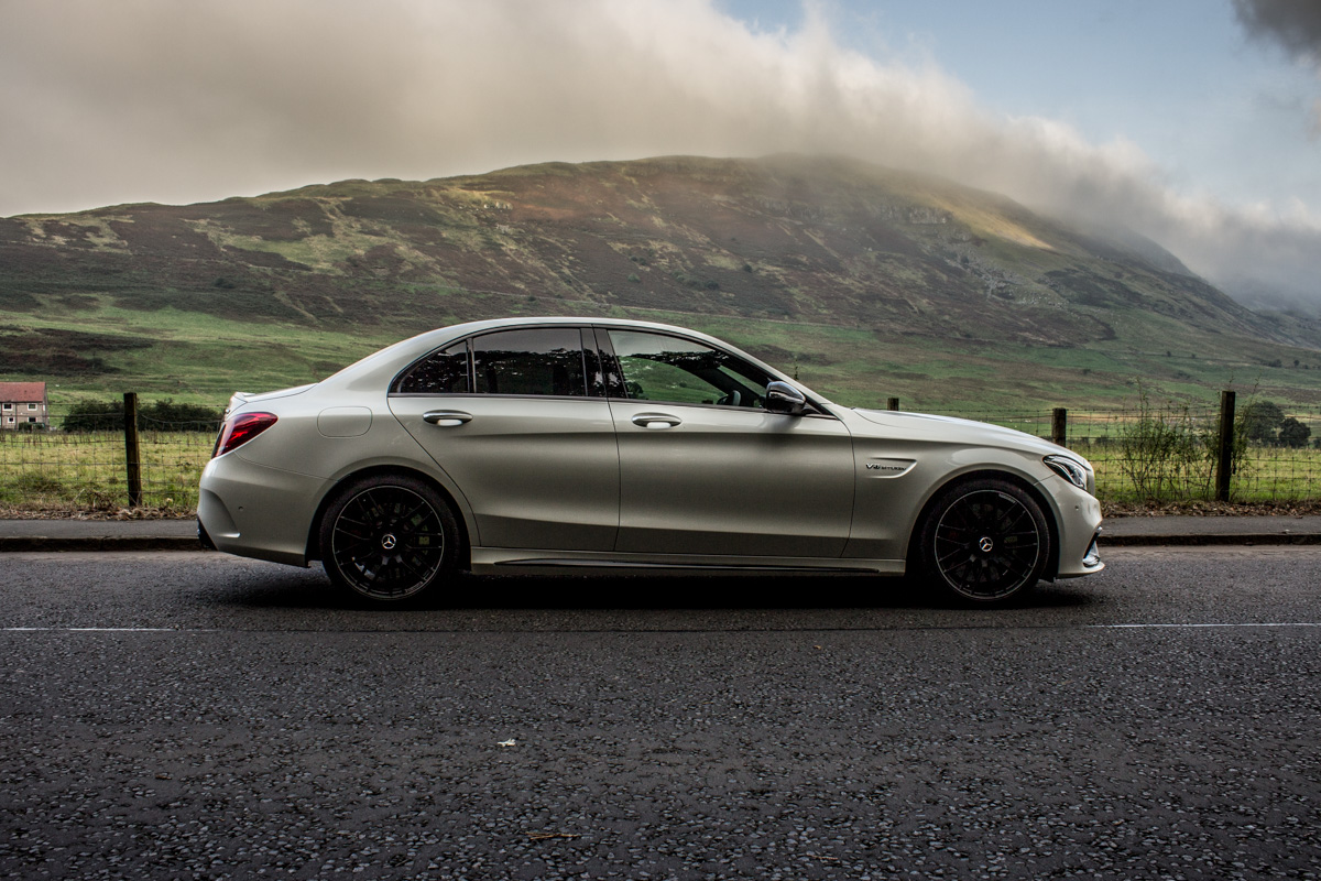 Rush Hour in The AMG c63s Sedan 14
