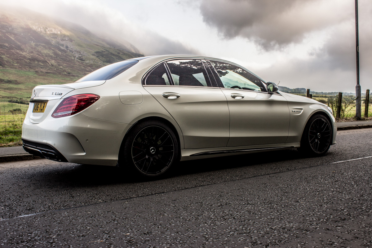 Rush Hour in The AMG c63s Sedan 7