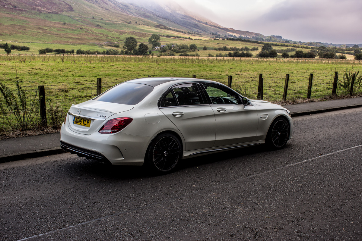 Rush Hour in The AMG c63s Sedan 1