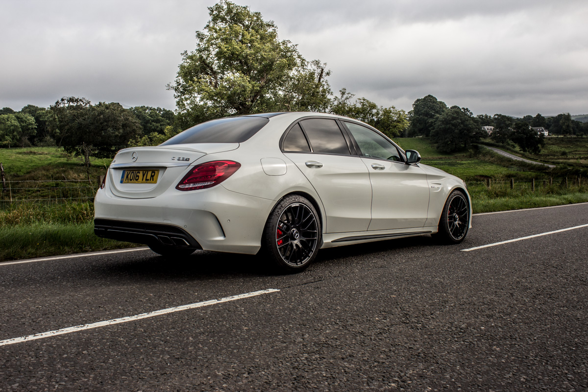 Rush Hour in The AMG c63s Sedan 16