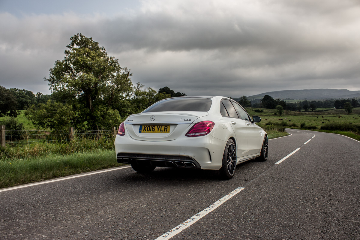 Rush Hour in The AMG c63s Sedan 15