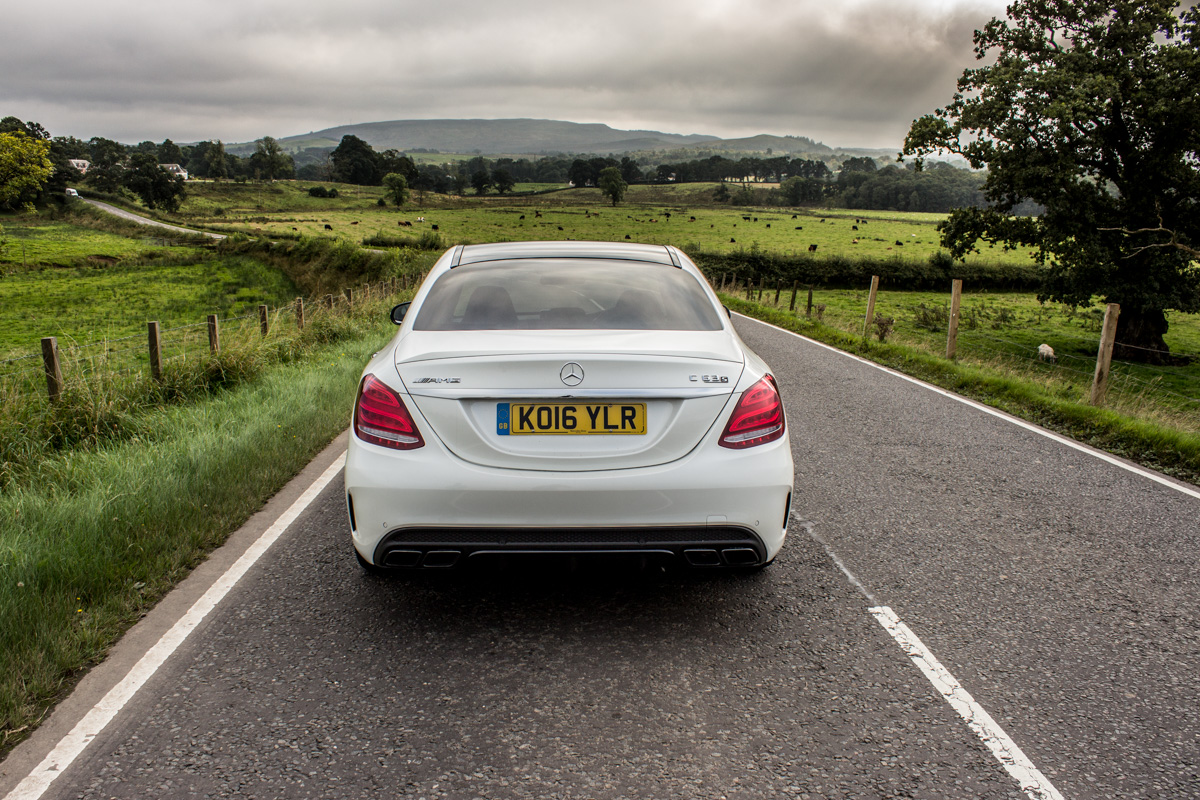 Rush Hour in The AMG c63s Sedan 12