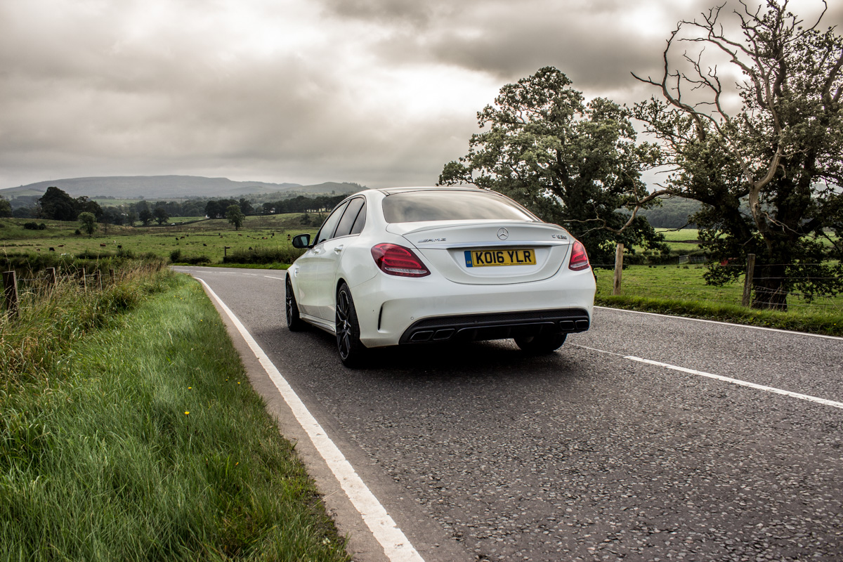 Rush Hour in The AMG c63s Sedan 13