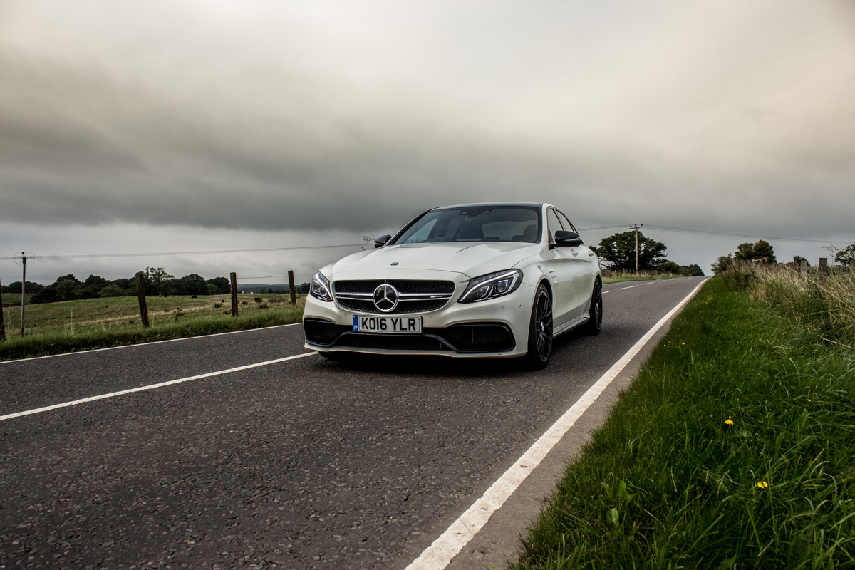 Rush Hour in The AMG c63s Sedan 11