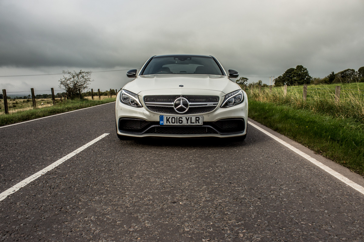 Rush Hour in The AMG c63s Sedan 10