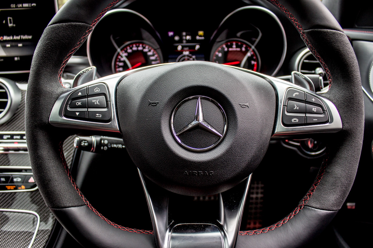 Rush Hour in The AMG c63s Sedan 17