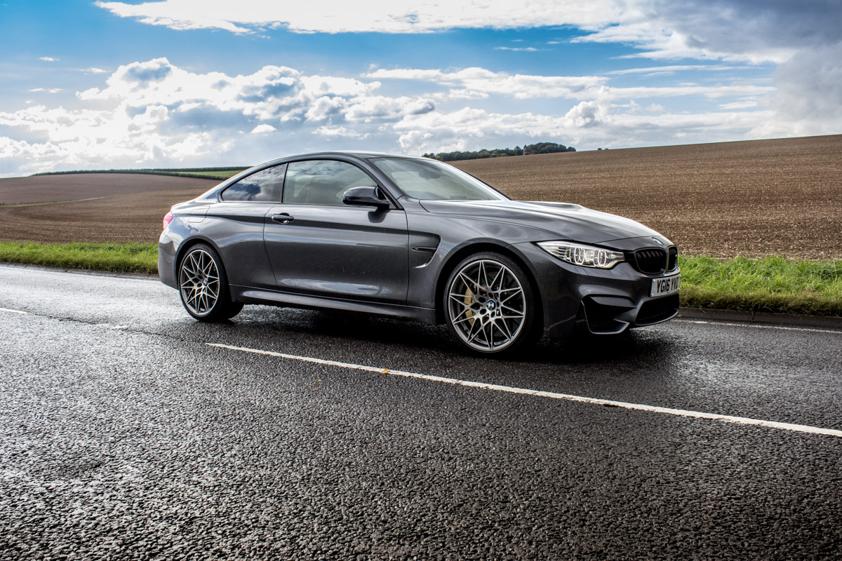 The BMW M4 Competition Pack Pack's a Punch 4
