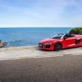 Topless V10 Pleasure in Barcelona - The R8 Spyder