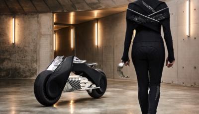 Science-Fiction auf zwei Rädern: Das BMW Motorrad VISION NEXT 100