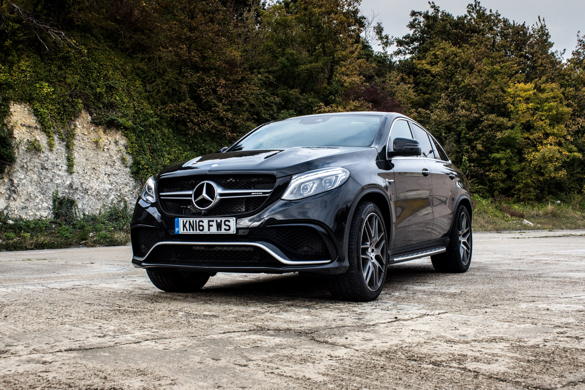 Coupe/SUV/Tank – The AMG GLE 63s 1