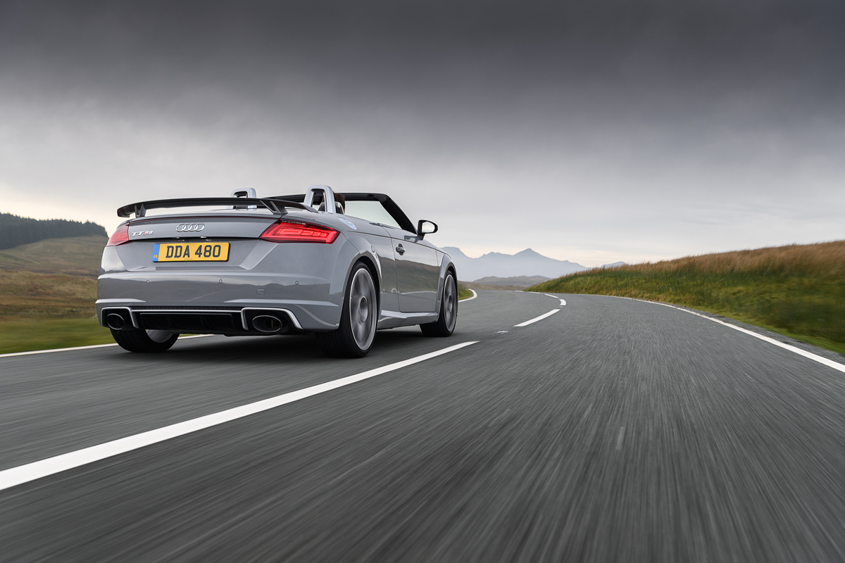 A Baby R8: Launching The New Audi TTRS 6