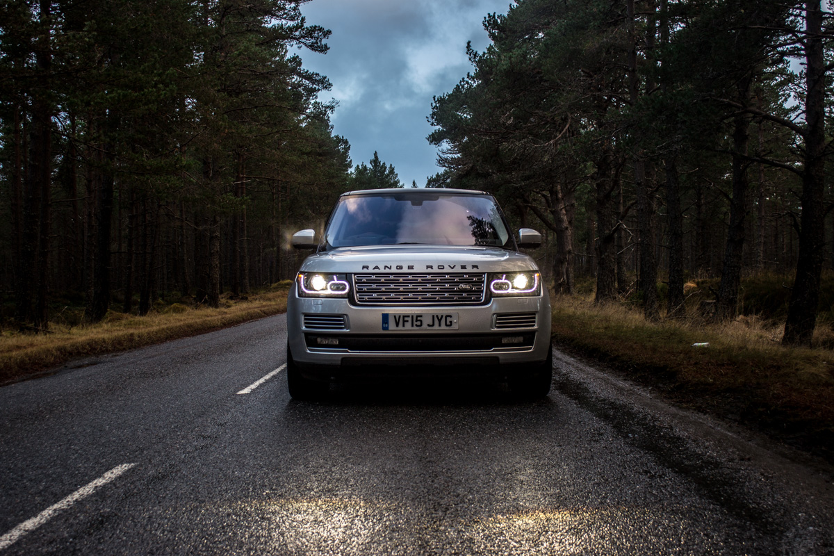 Highland Touring in The Range Rover SVAutobiography 11