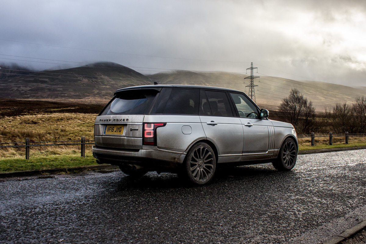 Highland Touring in The Range Rover SVAutobiography 5
