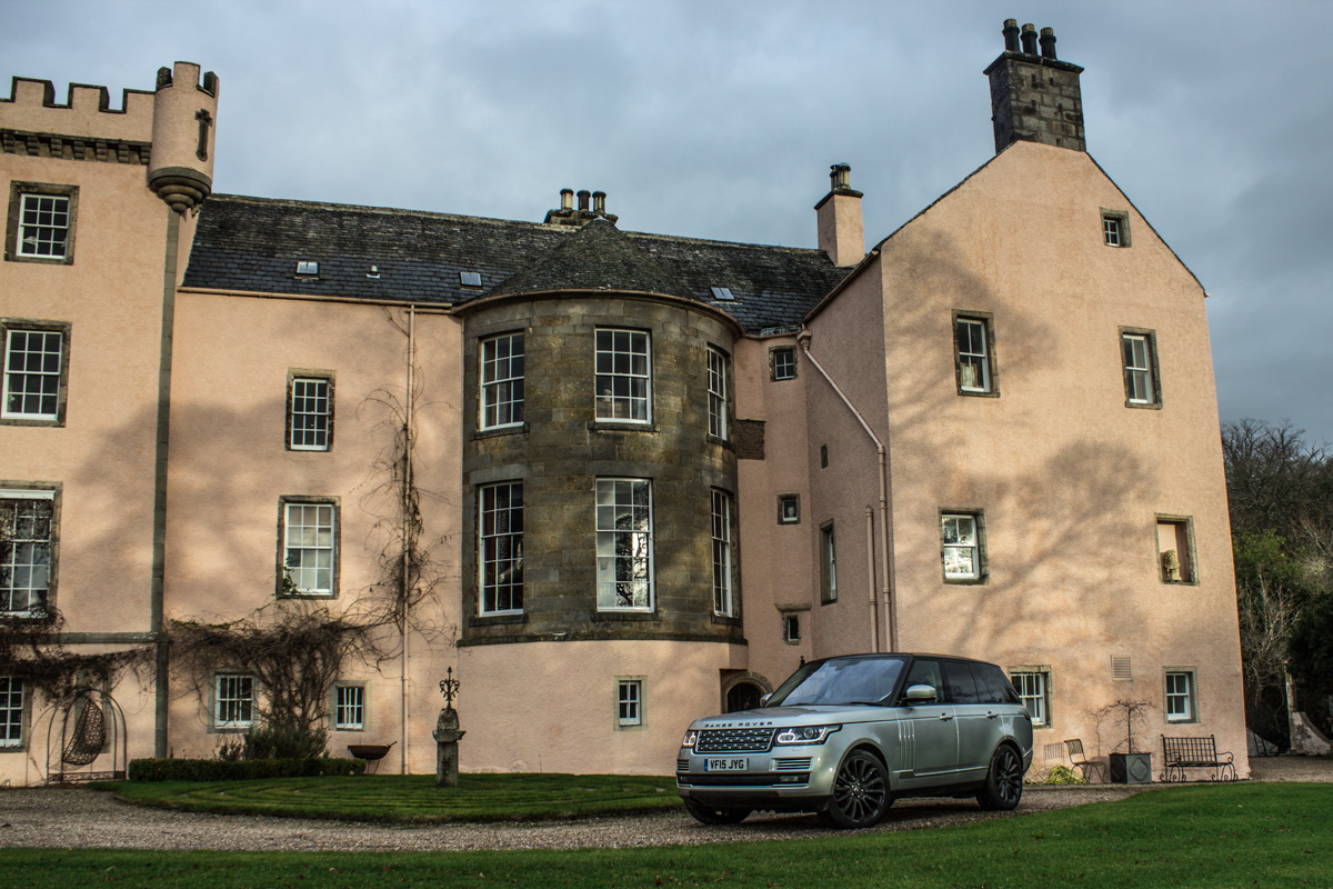 Highland Touring in The Range Rover SVAutobiography 2