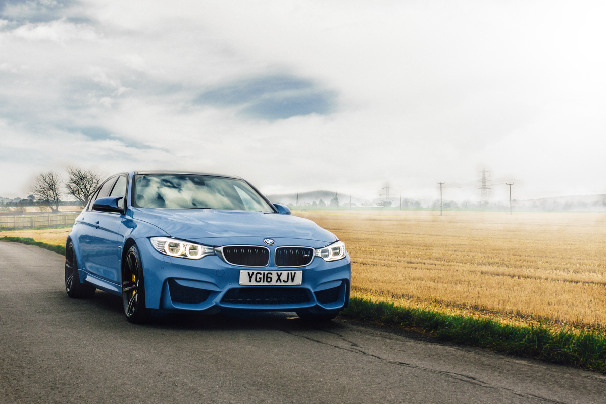A true performaer: Winter Fun in the BMW M3 5