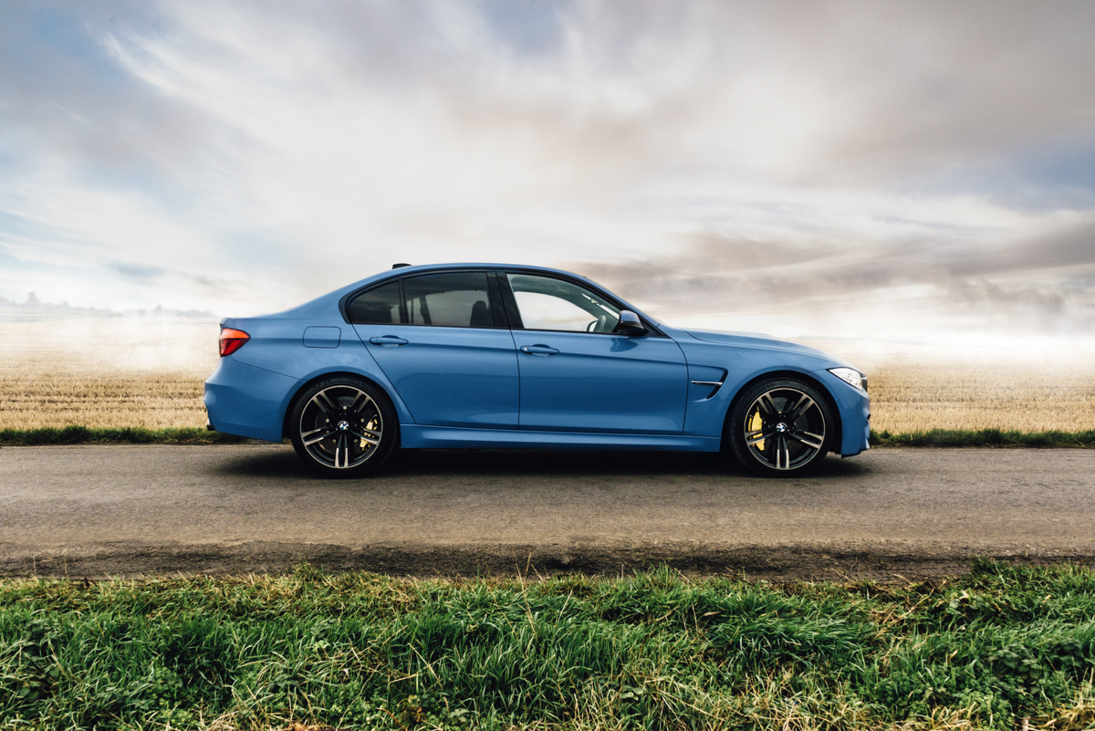 A true performaer: Winter Fun in the BMW M3 6