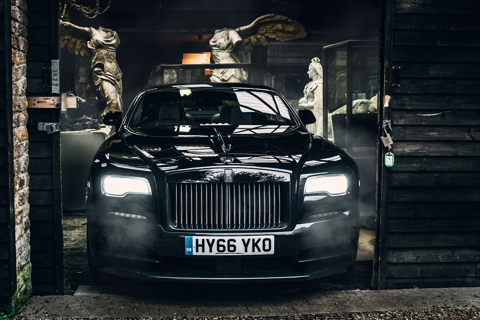 Driving The Black Badge Rolls Royce Wraith 3