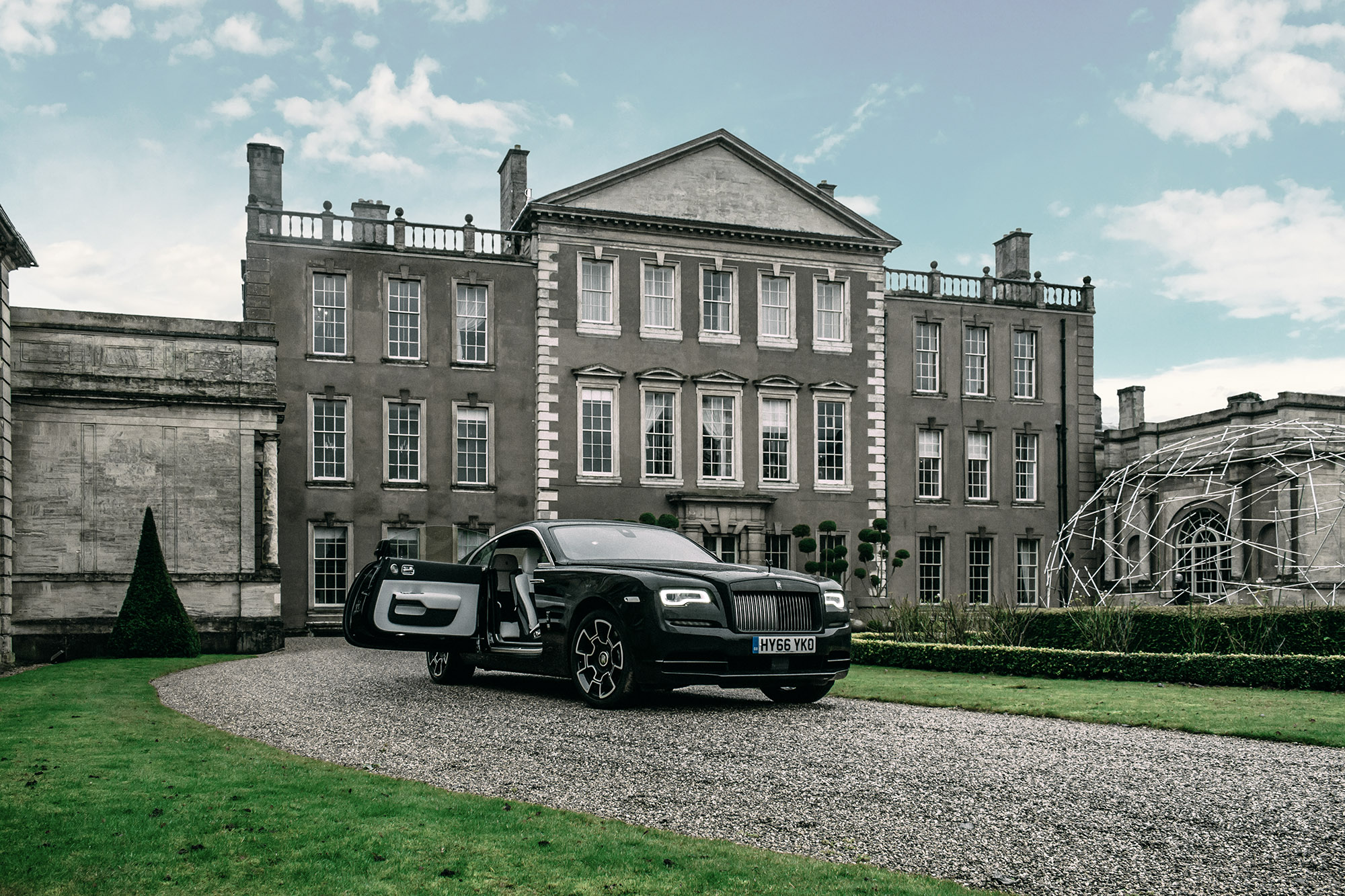 Driving The Black Badge Rolls Royce Wraith 5