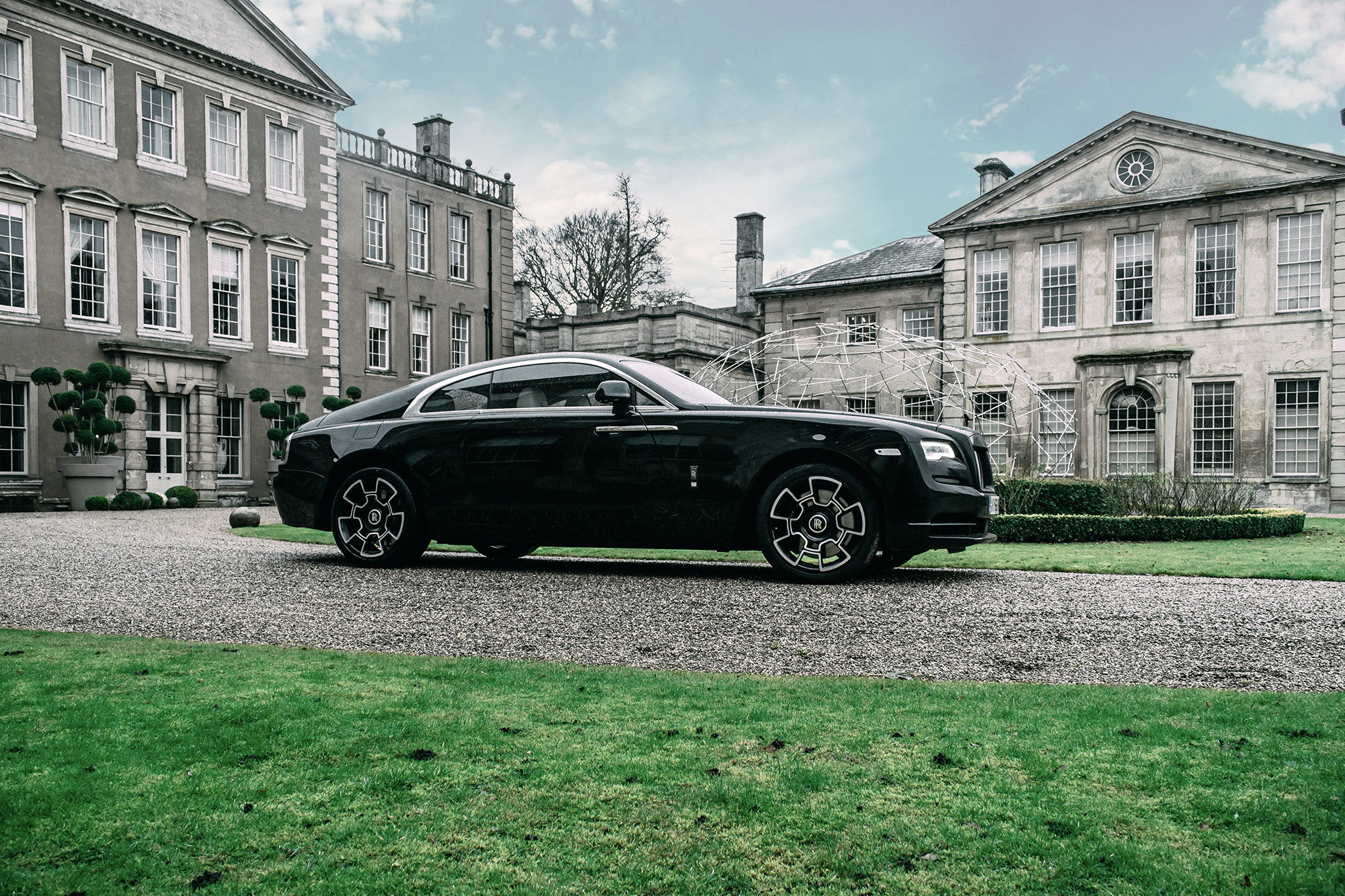 Driving The Black Badge Rolls Royce Wraith 6
