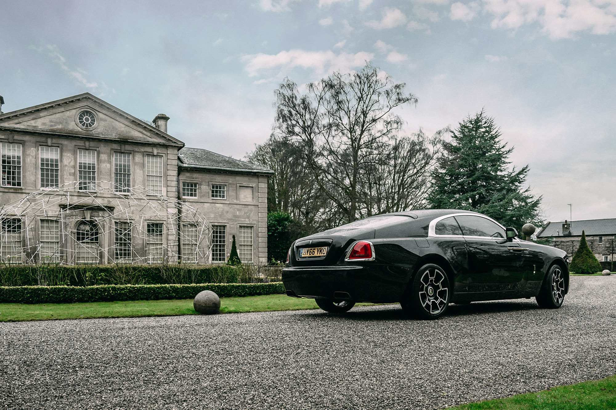 Driving The Black Badge Rolls Royce Wraith 7