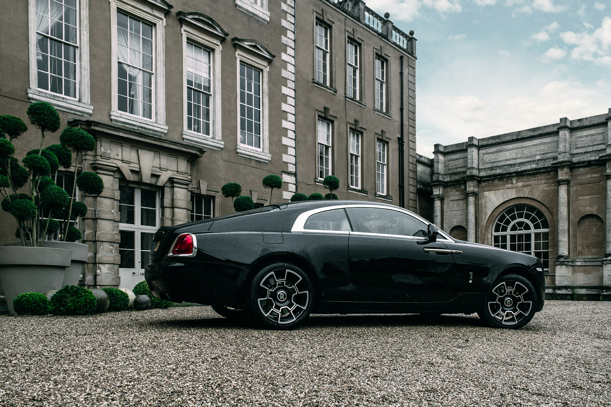Driving The Black Badge Rolls Royce Wraith 8