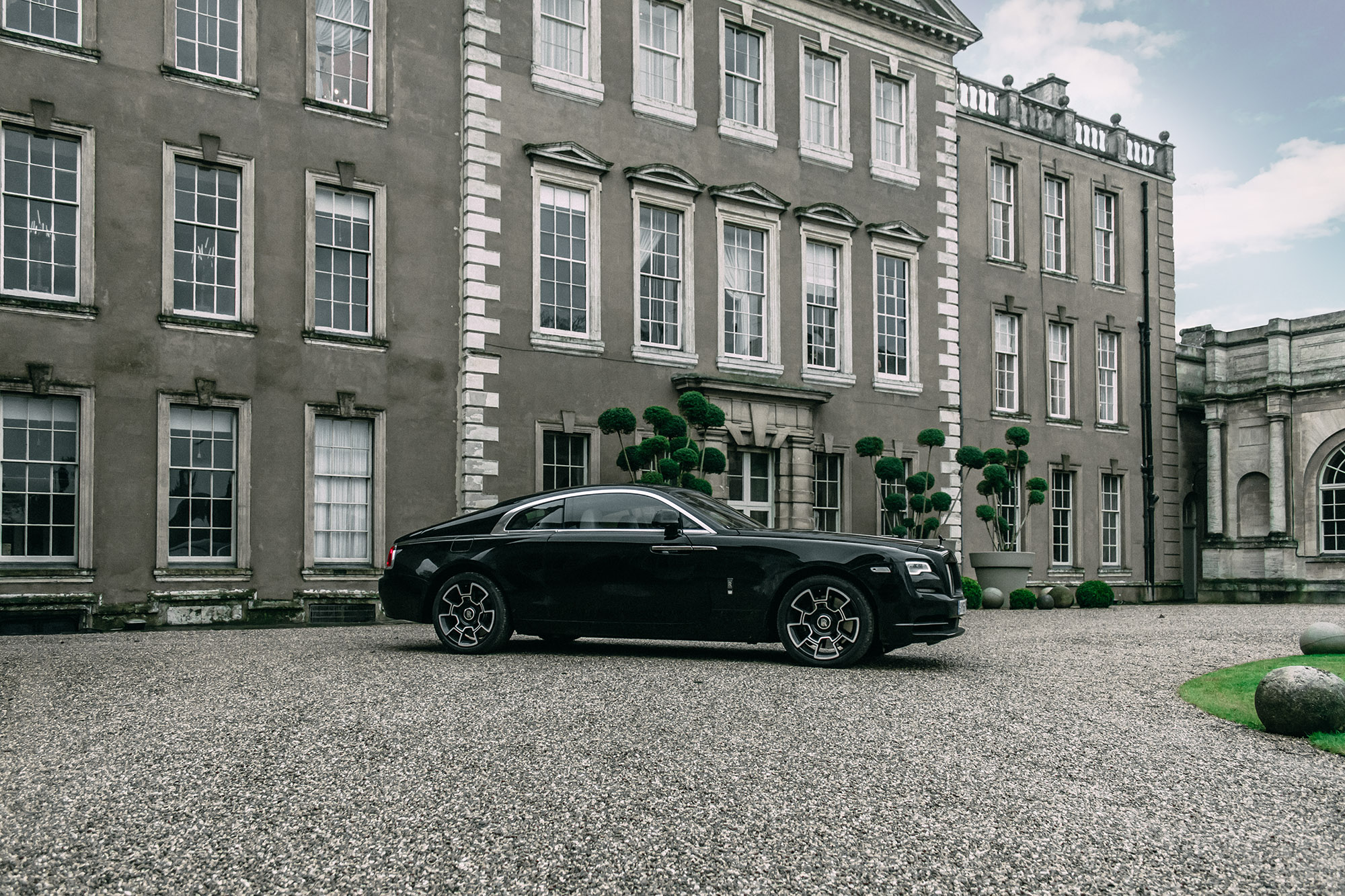 Driving The Black Badge Rolls Royce Wraith 9