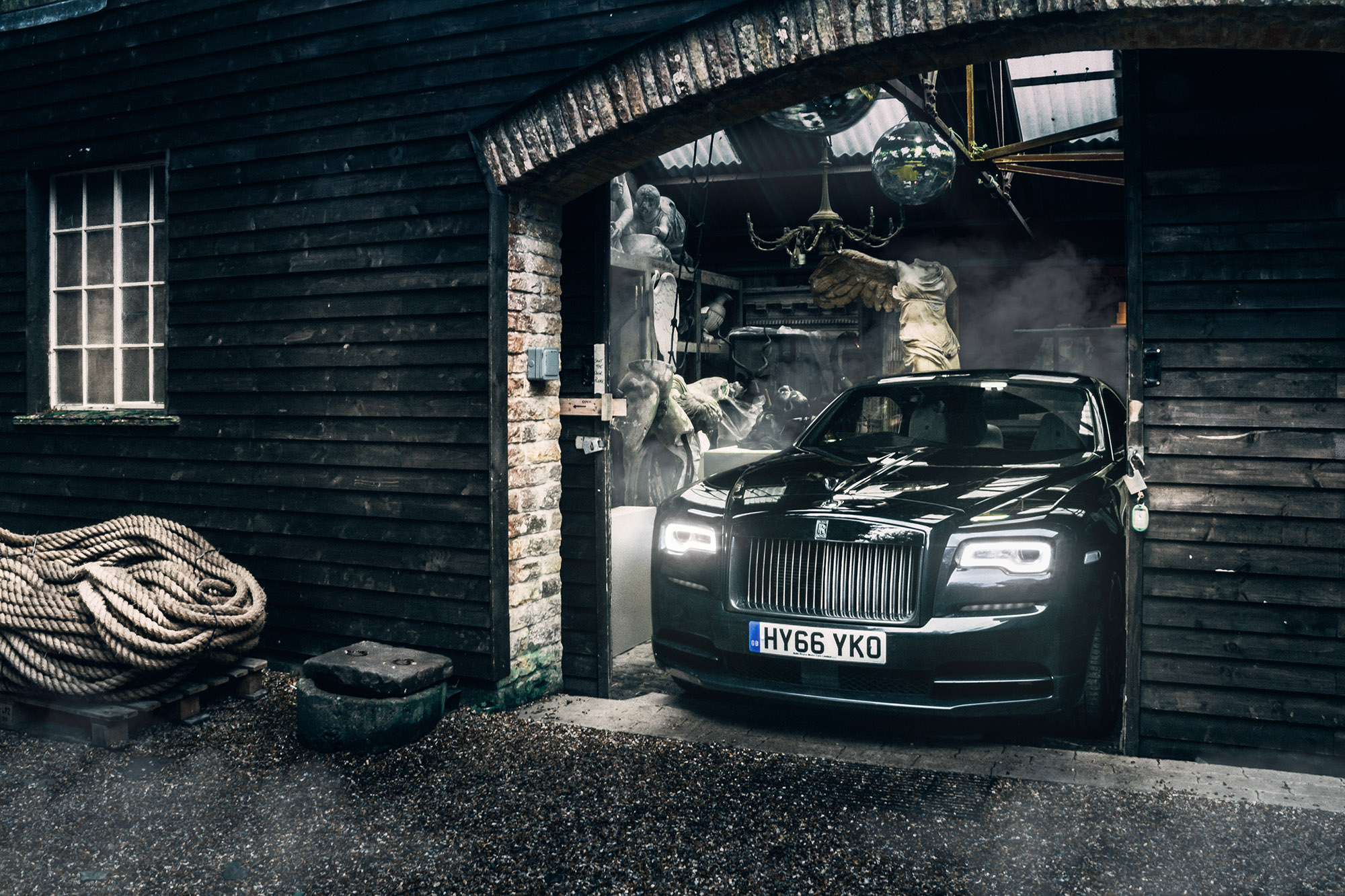 Driving The Black Badge Rolls Royce Wraith 1