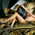 Gigi Hadid Goes Nude in Stunning Versace Campaign