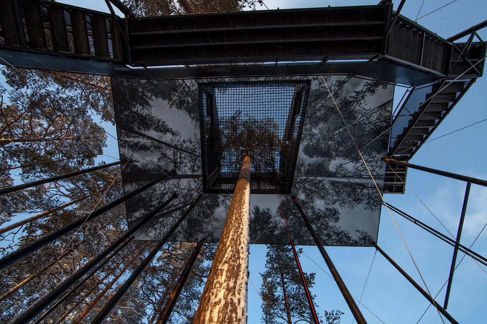 Träumen in Bäumen im 7th Room Treehotel 7