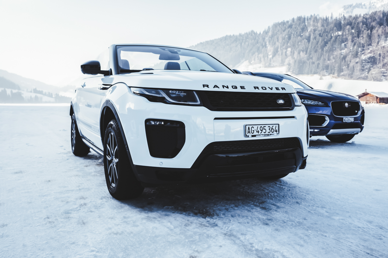 Die Jaguar Land Rover Ice Driving Experience in Gstaad 24