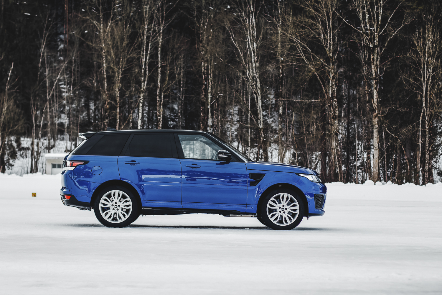 Die Jaguar Land Rover Ice Driving Experience in Gstaad 14