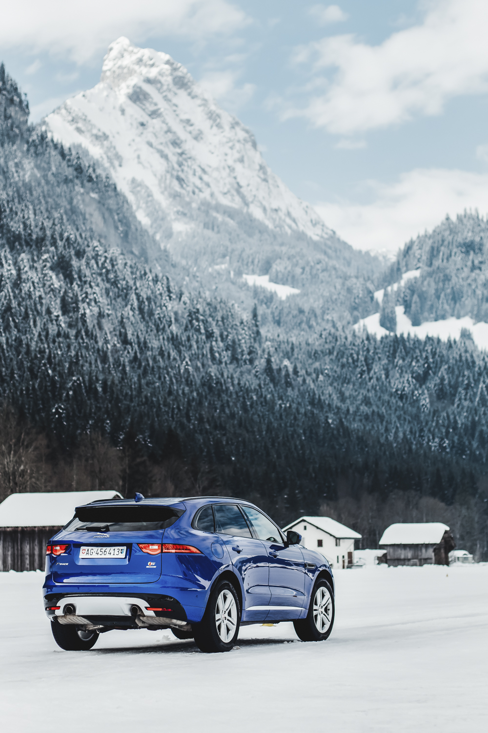 Die Jaguar Land Rover Ice Driving Experience in Gstaad 13